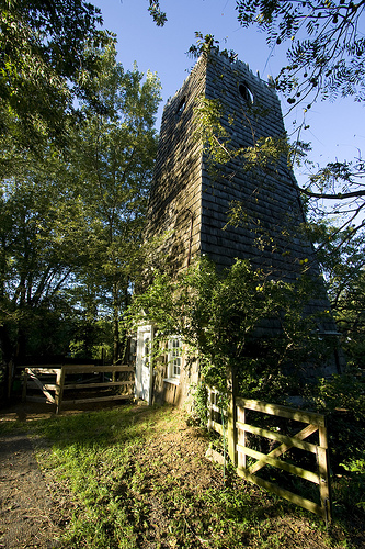 Beautiful Structure At A Farm On Long Island Surrounded By Trees