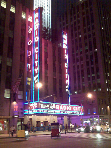 Radio City Music Hall Is Home To Annual Christmas Spectacular Show.