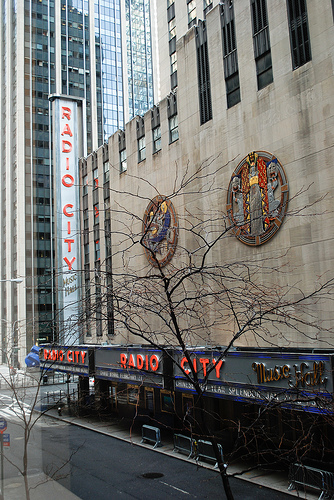 Radio City Music Hall: Home Of New York City's Famous Rockettes