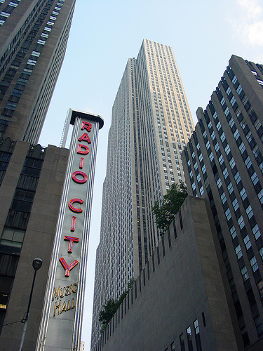 Radio City Music Hall, One Of The Most Famous Entertainment Venues In The World