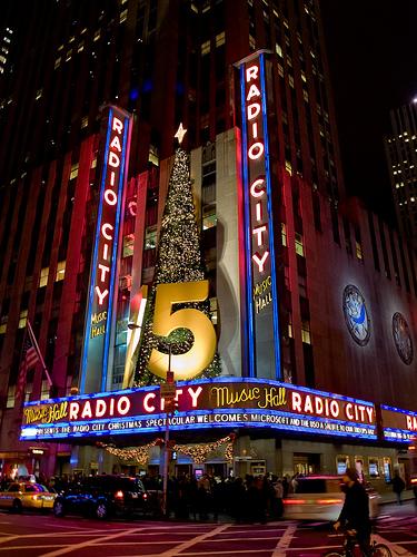 Radio City Music Hall Hosts Entertainment Events Including The Radio City Christmas Spectacular