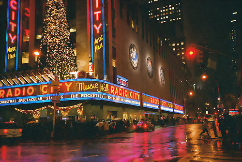 Where Else Can You See These Many Lights Besides The Radio City Music Hall