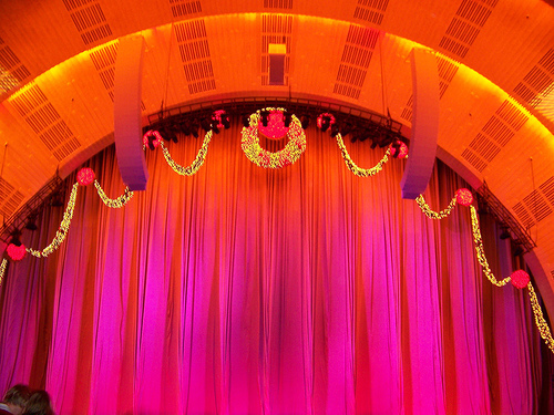 The Famous Radio City Music Hall Stage Minus The Rockettes