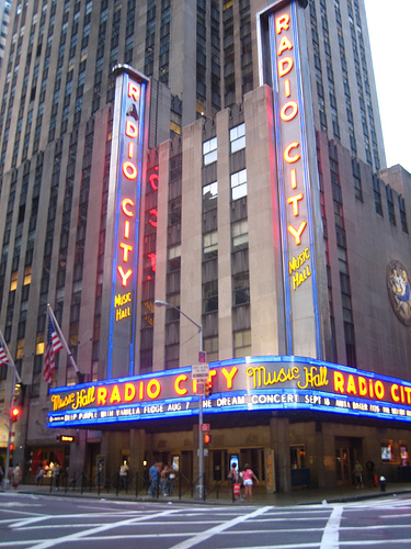 Concerts And Live Stage Shows Can Be Seen At The Historic Radio City Music Hall.