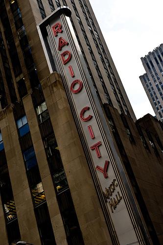 Radio City Music Hall In Rockefeller Center