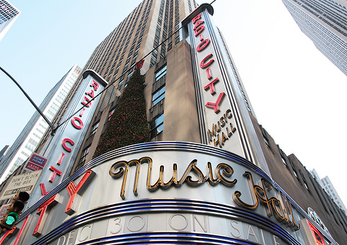 The World Famous Radio City Music Hall, Which Opened In 1932