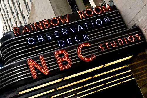 Entrance T The Rainbow Room Located In Midtown Manhattan's Rockefeller Center.