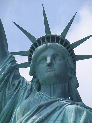 Gorgeous Lady Liberty In All Her Splendor.