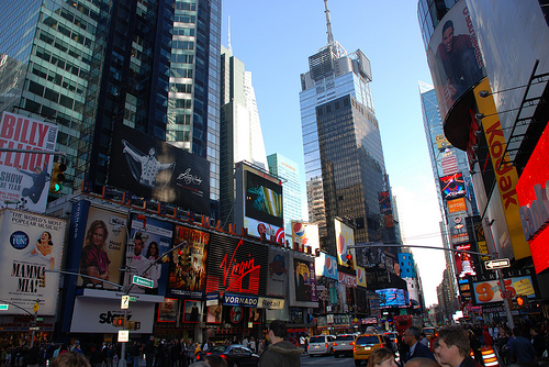 pictures of times square tower