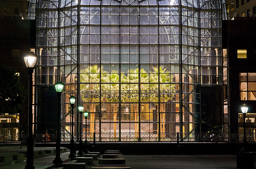 The Amazing Architecture Of The Winter Garden Atrium.    New York Pictures