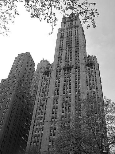 The Woolworth Building, A National Historic Landmark, Was Once The World's Tallest Building.