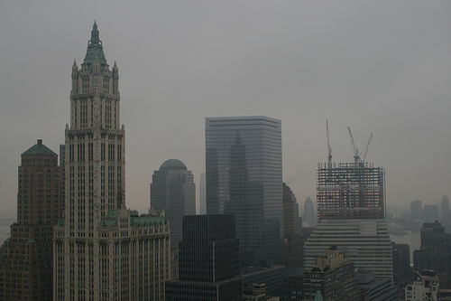 Just Another Gloomy Day At The Woolworth Building
