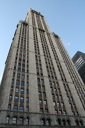 The Woolworth Building Was The Worlds Tallest Building- At A Height Of 792 Feet- When It Opened In 1913.