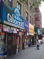 In Astoria, Queens There Are Some Nice Blocks To Do Some Shopping.