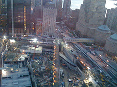 A View From The Top Of The City And The World Trade Center Site