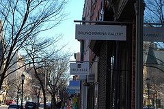 There's A Small Stretch Of Atlantic Avenue In Boerum Hill With Art Galleries, Boutiques