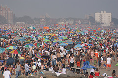 Brighton Beach Is A Community On Coney Island In The Borough Of Brooklyn In New York City.