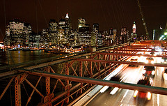 Brooklyn Bridge, taken From The Pedestrian Walkway...