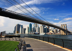Brooklyn Bridge Park, Dumbo, Brooklyn, New York