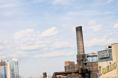 The Domino Sugar Plant In Brooklyn