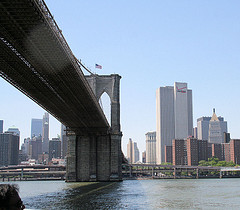 Brooklyn Bridge, Designed By John Augustus Roebling, Opened In May 24, 1883