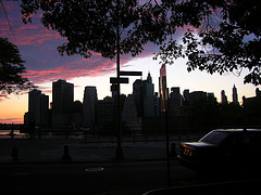 A Startling City Under The Purple Sky, Glanced From Brooklyn Heights