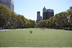 Cadman Plaza Park Is Located On The Border Between The Brooklyn