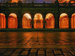 Bethesda Arcade At Dawn, In Central Park, Reopened In March 2007 After A Recent Renovation
