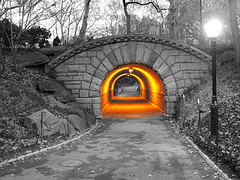 A Twist On A Tunnel In Central Park