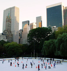 Central Park Is A Large Public Urban Park In New York City