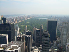 Central Park Is A Large Public, Urban Park In The Heart Of Manhattan In New York City.
