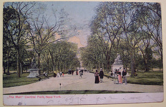 A Postcard Of Victorian Central Park, Which Today Has Two Ice Skating Rinks, A Zoo, And A Wildlife Sanctuary,