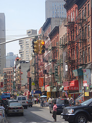 The Chinatown Neighborhood Of Manhattan A Borough Of New York City