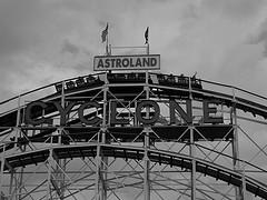 Coney Island Cyclone Was Declared A New York City Landmark On July 12, 1988