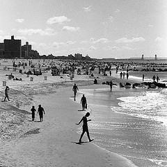 Coney Island Is A Peninsula, Formerly An Island, In Southernmost Brooklyn, New York City, Usa
