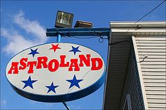 Approaching Astroland, Lets Go In And See What It Is About.