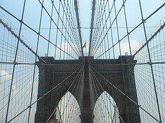 The Brooklyn Bridge (originally The New York And Brooklyn Bridge)
