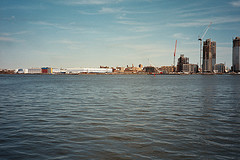 A View Of East New York, Brooklyn From Across The Water