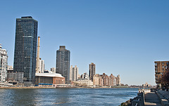 A View Of The River And Upper Manhattan.