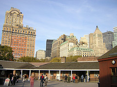 Financial District, It Encompasses Roughly The Area South Of City Hall Park