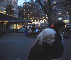 Moody Twilight Shot In Madison Square Park, Flatiron District