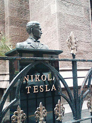 This Is A Bust Of Nikola Tesla, 25th Street In The Flatiron District.
