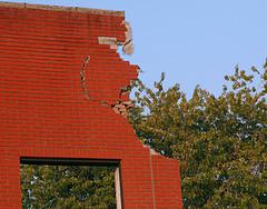 A Crumbling Wall In Gowanus
