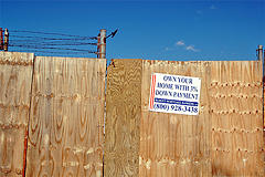 First, Go To Gowanus, Brooklyn.  Second, Bring Your 3 % Down Payment.  Finally, Get Rid Of The Fence.