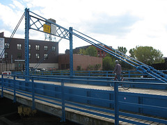 The Oldest Remaining Retractable Bridge Over The Gowanus Canal In Brooklyn.
