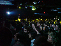 The Audience At Cut Copy, At Studio B, Greenpoint, Brooklyn.
