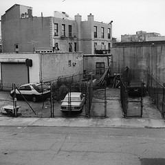 A Photo Of A Run Down Area Of Greenpoint, Brooklyn.