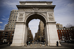 Landmark Monument Of Greenwich Village
