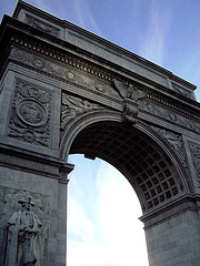 The Peace Arch In Greenwich Village