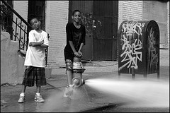Summer Vacation Has These Kids Needing To Cool Off In Harlem